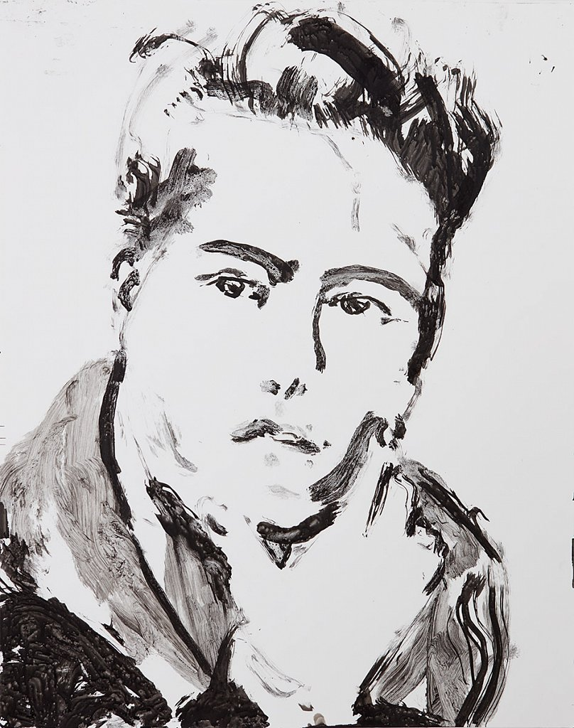 David 2, Ink Study