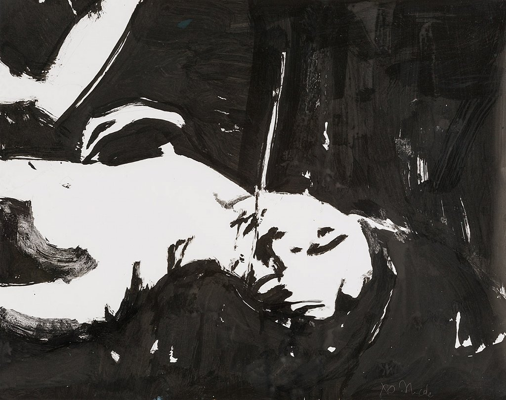Rite of Spring Ink Study 2
