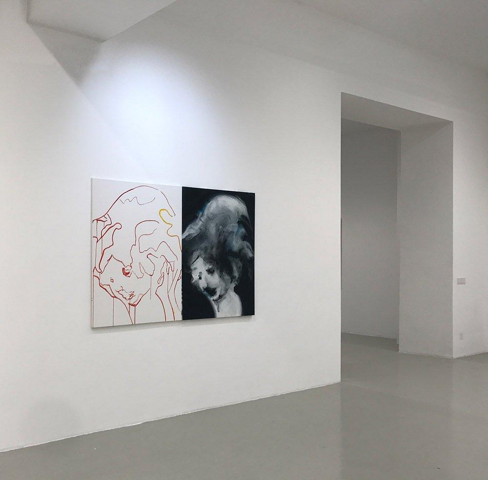 Installation ViewGalerie Lisa Kandlhofer, Vienna, Austria