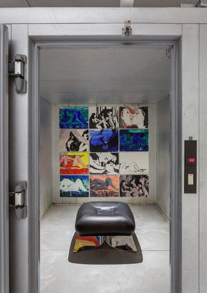 Installation View, Luciano Brito, NYC