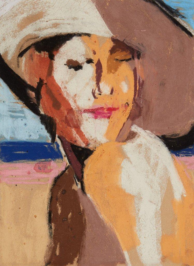 Elizabeth in Her Sun Hat (2019)